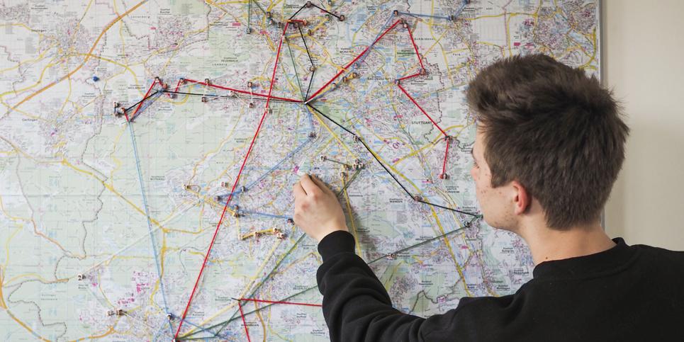 Planung der Fahrdienst-Routen