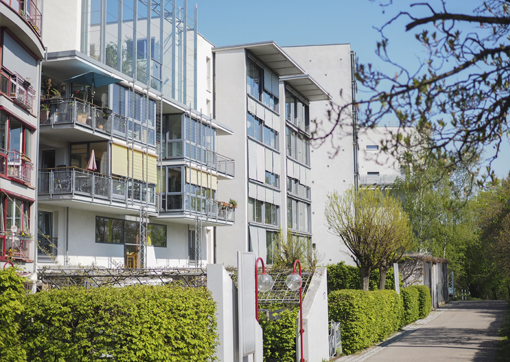 Wohngemeinschaft in der Störzbachstraße