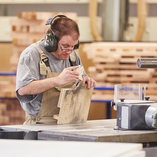 Holzwerkstatt der Lebenshilfe Stuttgart