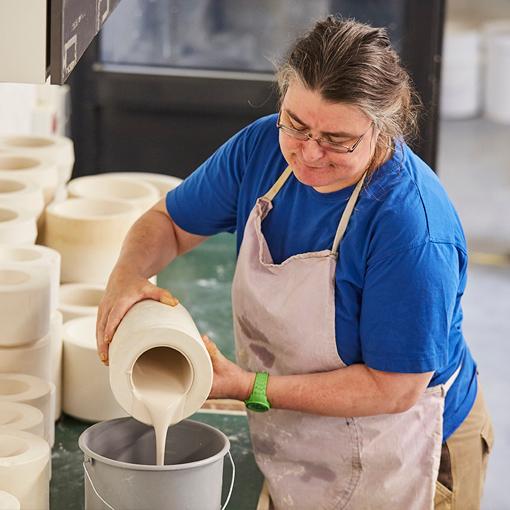 Keramikwerkstatt der Lebenshilfe Stuttgart